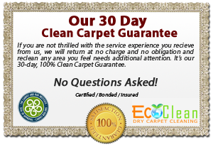 dry carpet cleaning long beach ca - guarantee